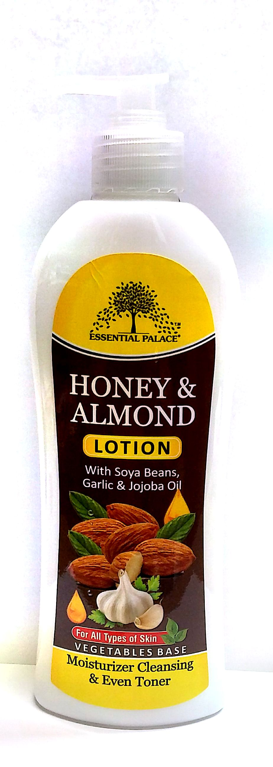 Honey & Almond Lotion. | Essential Palace Inc. Almond Honey