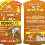 COCONUT & PAPAYA DEODRANT NO 1