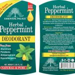 HERBAL PEPPERMINT DEODRANT NO 1