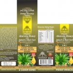 ORGANIC ALOEVERA HONEY WITH SPINACH & BLACK SEED