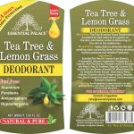 TEA TREE WITH LEMON GRASS DEODRANT NO 1