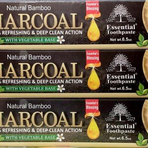 Natural Bamboo Activated Charcoal Toothpaste.4