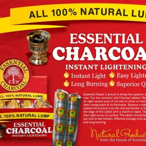 Essential Charcoal ( 100% Natural Lump )